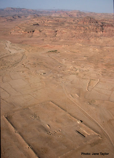 Photograph of  the Hismâ Desert From the 2000 Excavations At Humayma
