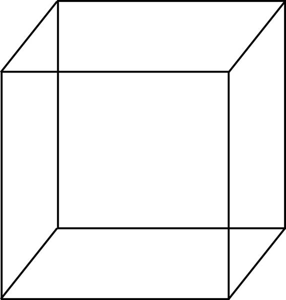 Cube Outline Wo...