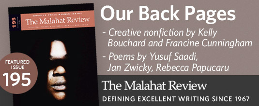 The Malahat Review Poetry Fiction And Creative Nonfiction