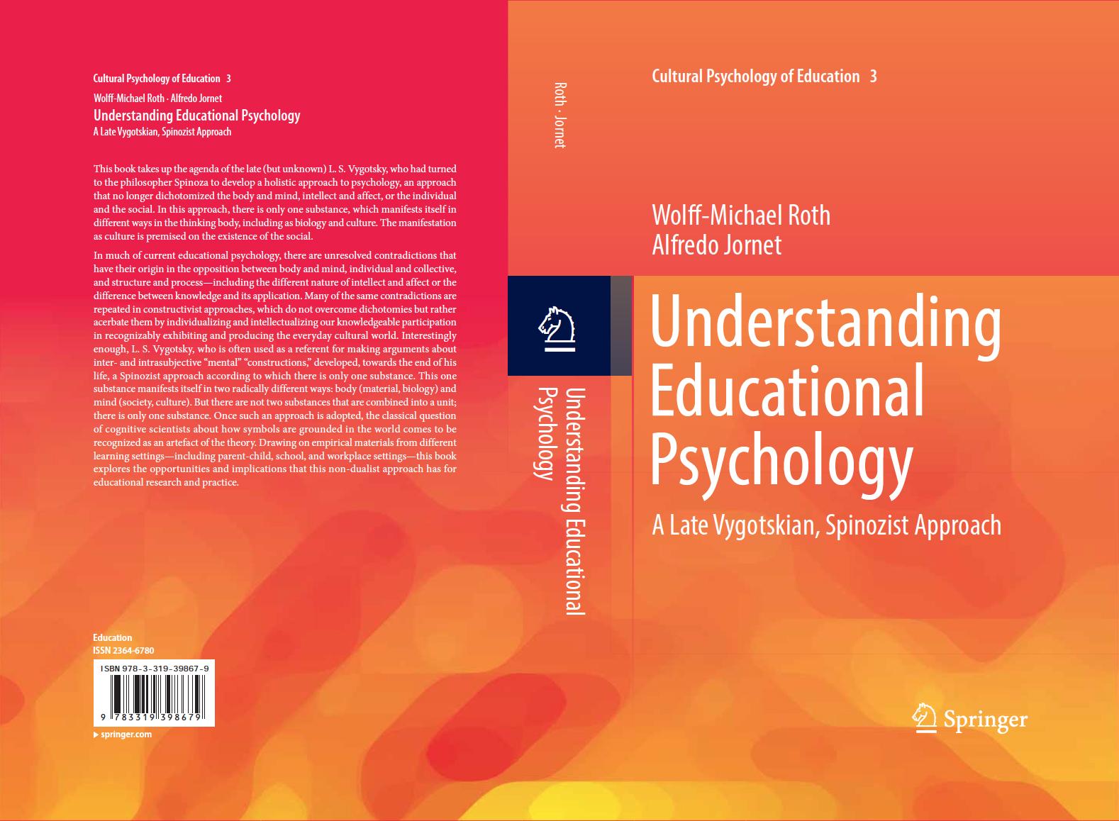 understanding educational psychology a late vygotskian spinozist pdf